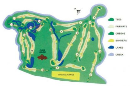 Gold Coast Country Club Map