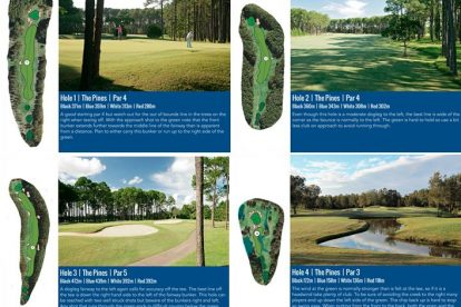 The Pines Course 1-4