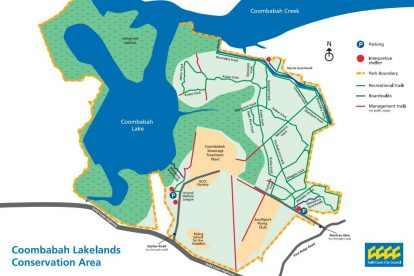 Coombabah Lake Nature Reserve Map