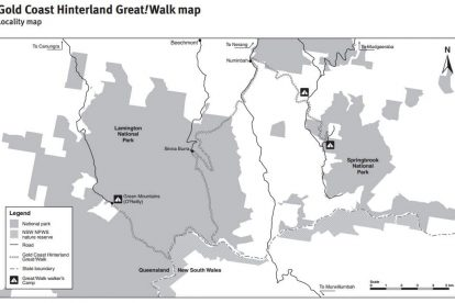 Great Walk Overall Map