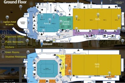 Convention Centre Floorplan