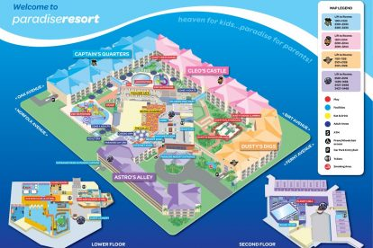 Paradise Resort Map