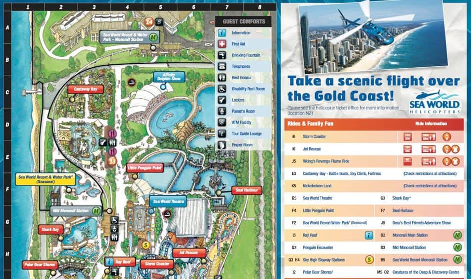 Seaworld gold coast coupons ihop 20 percent off coupon walk under a huge wave sculpture to discover the edge of the sea world of the coralopening in 1958 as a ski show called surfers paradise ski gardens gumiabroncs Choice Image