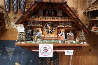 German Cuckoo Clock Nest-13