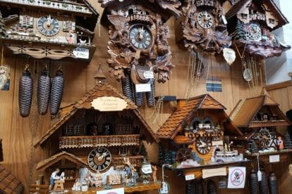 German Cuckoo Clock Nest-14