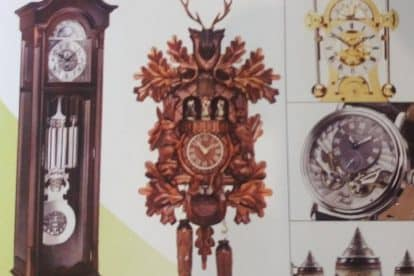 German Cuckoo Clock Nest-18