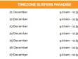 Paradise Centre Christmas Trading Hours Timezone