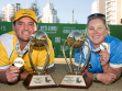 The 2016 Australian Open Bowls Championships Mens & Womens Trophy Images