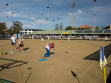 The 2016 Australian Open Bowls Championships at Mermaid Beach, Gold Coast.